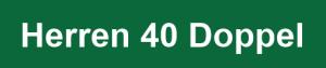 Herren 40 Doppel Logo